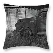 Broken Down Throw Pillow