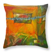 Broken Dream  Throw Pillow
