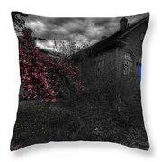 Broken Faith Throw Pillow by Shelley Neff