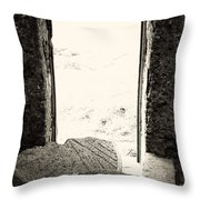 Broken Millstone Throw Pillow