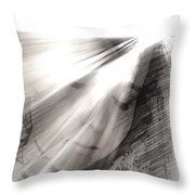 Broken Mirror Throw Pillow