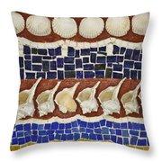 Broken Shell Throw Pillow