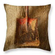 Tools On Wood 2 Throw Pillow