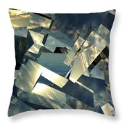 Broken Sky Throw Pillow