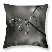 Broken Soul... Throw Pillow