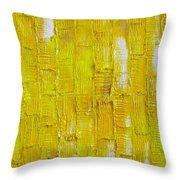 Broken  Yolk Throw Pillow