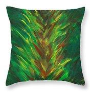 Bromeliad Alight Throw Pillow