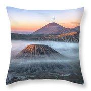bromo tengger semeru national park - Java Throw Pillow