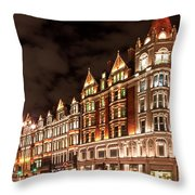 Brompton At Night Throw Pillow