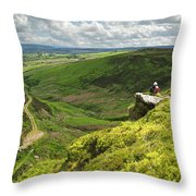 Bronte Country   Yorkshire England Throw Pillow