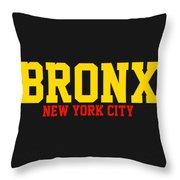 Bronx Throw Pillow