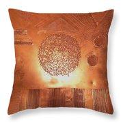 Bronze 1 Throw Pillow