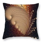 Bronze Throw Pillow