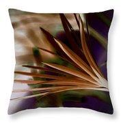 Bronze Ferns Throw Pillow
