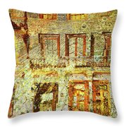 West Side Van Gogh Throw Pillow