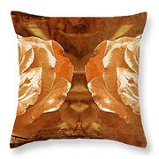 Bronzed Throw Pillow
