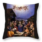 Bronzino Agnolo Painting Throw Pillow