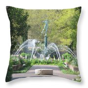 Brookgreen Gardens 3 Throw Pillow