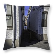 Brooklyn Alleyway Throw Pillow