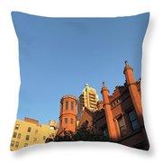 Brooklyn Blue Sky Throw Pillow
