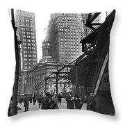 Brooklyn Borough Hall Throw Pillow