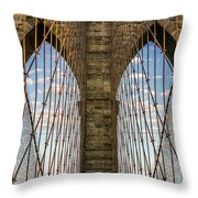 Brooklyn Dreams Throw Pillow