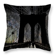 Brooklyn Gateway Throw Pillow