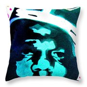 Brooklyn Jesus Throw Pillow