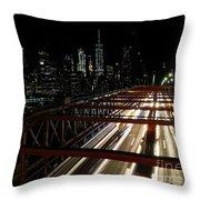 Brooklyn Lights Throw Pillow