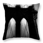 Brooklyn Mist Throw Pillow