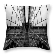 Brooklyn's Web Throw Pillow