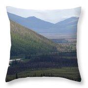 Brooks Range, Alaska Throw Pillow