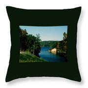 Brookville Lake Brookville Indiana Throw Pillow