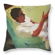 Brother Of Summer Throw Pillow