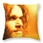Brotherius V1 - Digital Person Throw Pillow