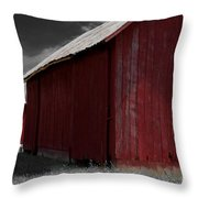 Brothers In Red Throw Pillow