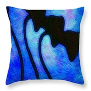 Brothers In The Night Throw Pillow