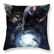 Brought To Light Throw Pillow