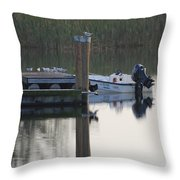 Broward Boat Throw Pillow