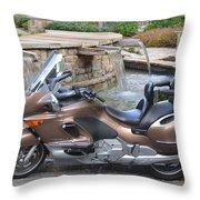 Brown Bmw Throw Pillow