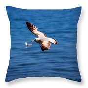 Brown Tips Throw Pillow