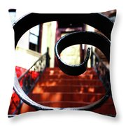 Brownstone 3 Throw Pillow