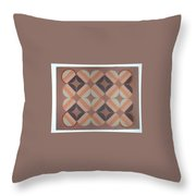 Brownstone Throw Pillow
