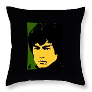 Bruce Lee Pop Throw Pillow