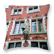 Bruges 1 Throw Pillow