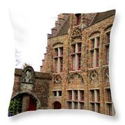 Bruges 10 Throw Pillow