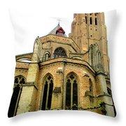 Bruges 15 Throw Pillow