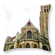 Bruges 16 Throw Pillow