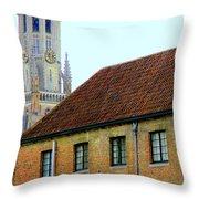 Bruges 18 Throw Pillow