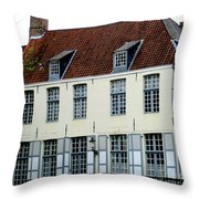 Bruges 19 Throw Pillow